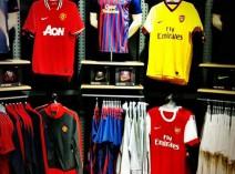 Branded sportswear