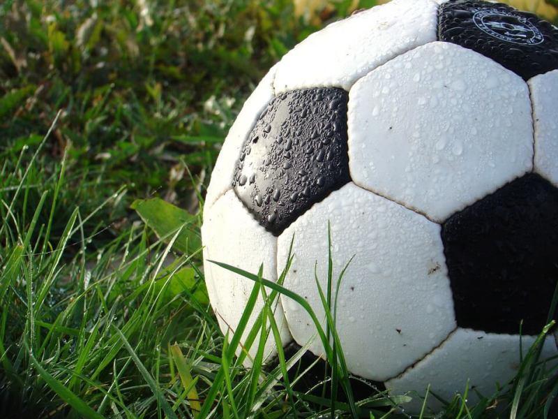 football-in-grass